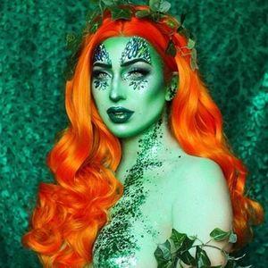 Orange Beauty Lace Front Wig